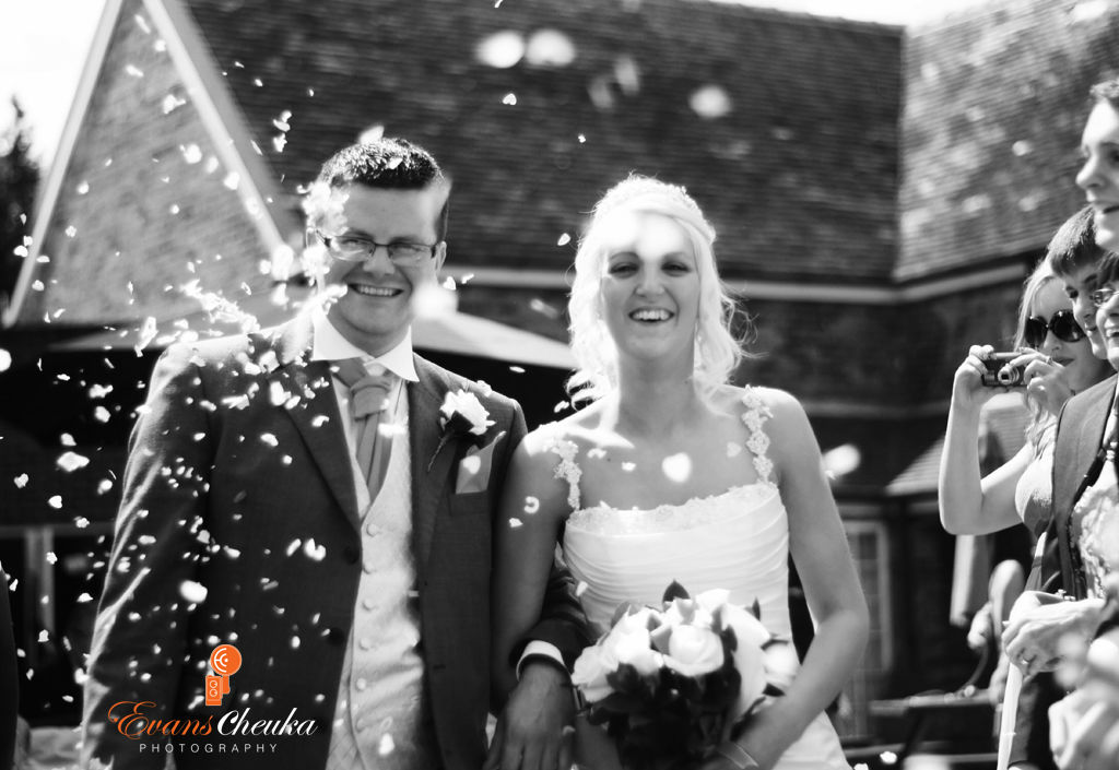 confetti shots alsager wedding photography