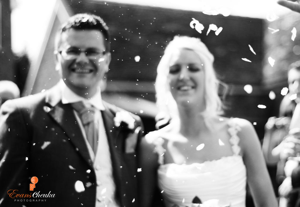 confetti shot wedding alsager